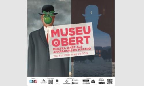 MUSEU OBERT MOSTRA D'ART ALS APARADORS DE MATARÓ