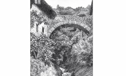 Dibuixos de tinta i ploma de Pau Viader